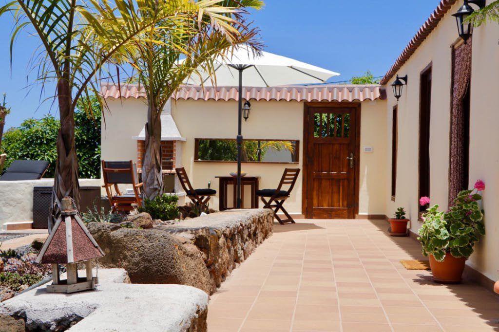 Access door to terrace