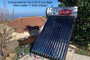 Zonne-energie voor warm water