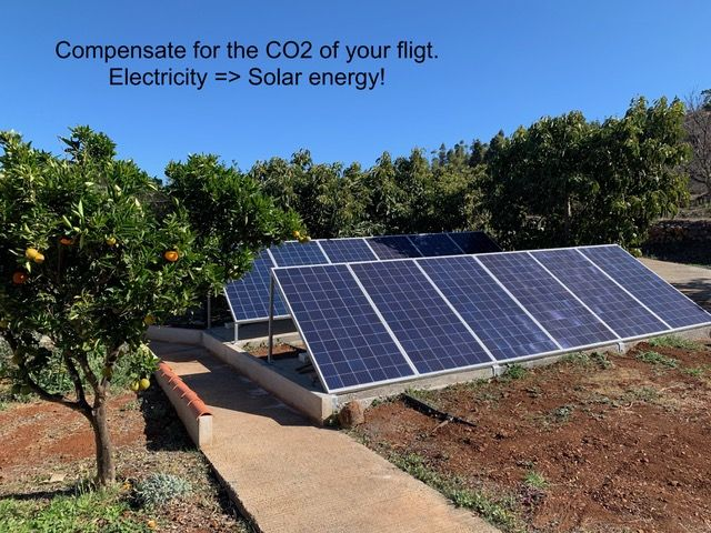 Solar energy for electricity